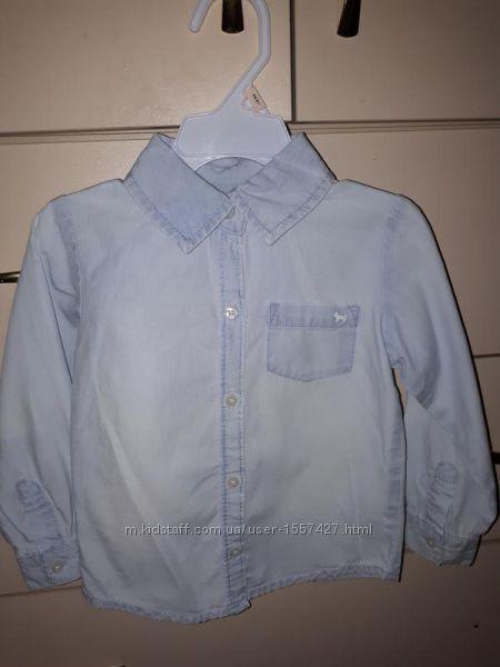 0b3d8bd5e16 Джинсовая рубашка Carters на 3 г