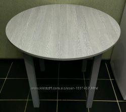Круглый Серый Стол на Кухню