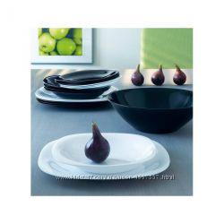 Сервиз столовый 19пр Luminarc Carine Black&White N1491