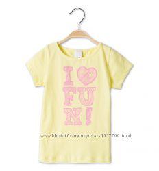 Новая летняя футболка р. 116 фирмы Palomino C&A