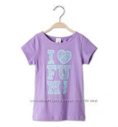 Новая футболка для девочки р. 116 и р. 122 фирмы Palomino C&A