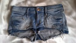 Шорты джинсовые H&M раз 34