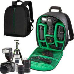 Рюкзак для фотокамери, фоторюкзак, сумка для фото рюкзак Canon, Nikon,