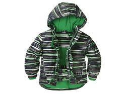 Детская куртка в яркую полоску от Crivit  Германия