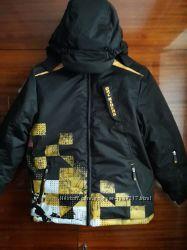 Крутая лыжная куртка для подростка от французской фирмы ORCHESTRA.
