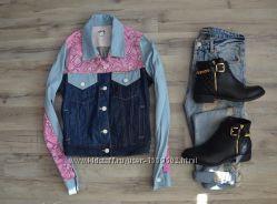 Фирменная курточка джинс