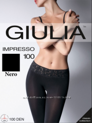 Теплые колготки Giulia Impresso