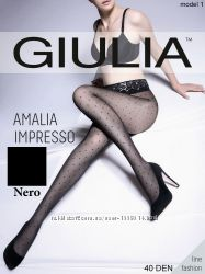 Колготки в горошек Giulia AMALIA IMPRESSO