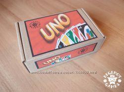 Настольная игра Уно Uno Ламинированные карты Aналог игры