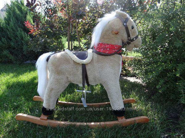 Лошадка-качалка музикальна