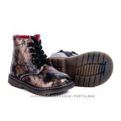 Красивые демисезонные ботиночки для девочки размер 22, 23