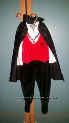 Карнавальный костюм вампирчика на Хеллоуин, новый год на 6-9 месяцев