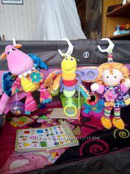 Подвесные игрушки для коляски, манежа, кроватки от Lamaze