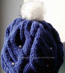 Вяжу на заказ и готовые вязанные шапки ручной работы