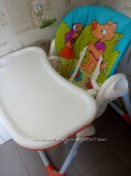Продам стульчик для кормления Chicco Polly 2 в 1