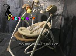 Колыбель-качели 3 в 1 качель-шезлонг-стульчик Baby Tilly BT SC 005