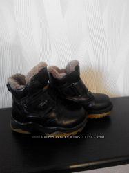 Ботинки  GEOX  р. 30, ботинки зимниеB&G р. 24