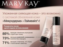 Система обновления кожи микродерма timewise mary kay