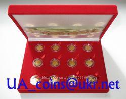 Монеты НБУ Знаки Зодиака золото, полная серия, любую можно отдельно