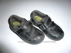Кожаные туфли-кроссовки на мальчика Сlarks