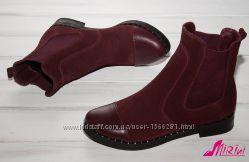 Заказ от 1 пары, Натуральные челси - цвет на выбор, ботинки, полусапожки