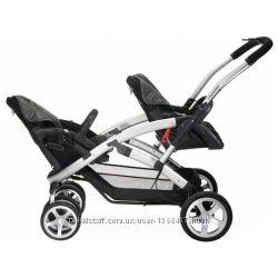 Супер коляска для двойни, близнецов, погодок casualplay s twinner