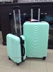 Качество Пластиковый чемодан мятный бирюзовый Мятный маленький чемодан