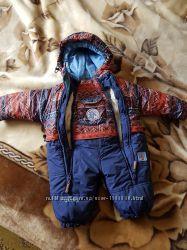 Детский комбинезон трансформер осень-зима-весна