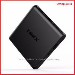 Приставка Android TV BOX Т95Х 28 4 ядра