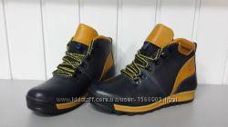 Подростковые ботинки Timberland из натуральной кожи