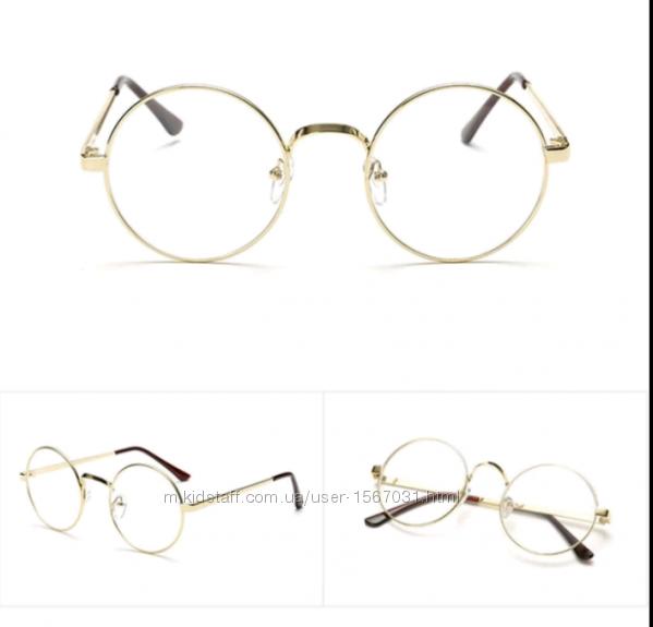 43ba37445b68 Круглые очки в золотой оправе, 100 грн. Женские солнцезащитные очки -  Kidstaff   №24585647