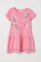 Плаття для девочек, плаття H&M 3 расцветки H&M 8-10 лет