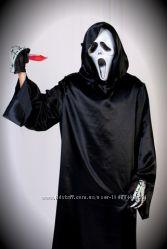 костюм крика, дементора , демона на хеллоуин