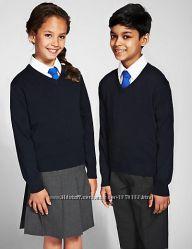 Школьный черный джемпер унисекс F&F, Оригинал, Англия