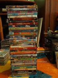 видео диски DVD мультфильмов