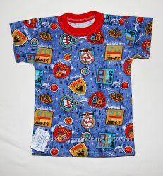 Новые, Трикотажные футболочки, для мальчиков и девочек, футболка