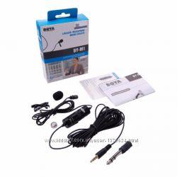 Петличный микрофон BOYA BY-M1, петличка для камеры и смартфона