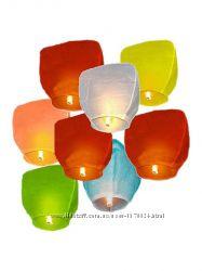 Небесный фонарик  купол, сердце  Воздушный шар