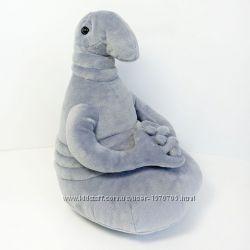 Мягкая игрушка Ждун серый, розовый, голубой 21см