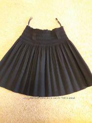 Школьная черная юбка р. 122-134.