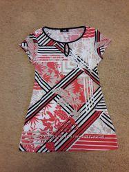 Оригинальное короткое платье прямого кроя Wallis р. XS6-8 р. 152-158