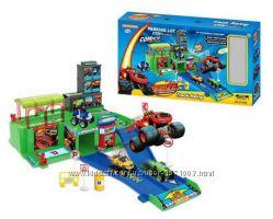 Паркинг гараж Вспыш и чудо-машинки в коробке 52298 см, арт. ZY-656