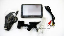 5 GPS навигатор Pioneer P-561 4Gb Bluetooth, AV-in IGO, Navitel, CityGuide