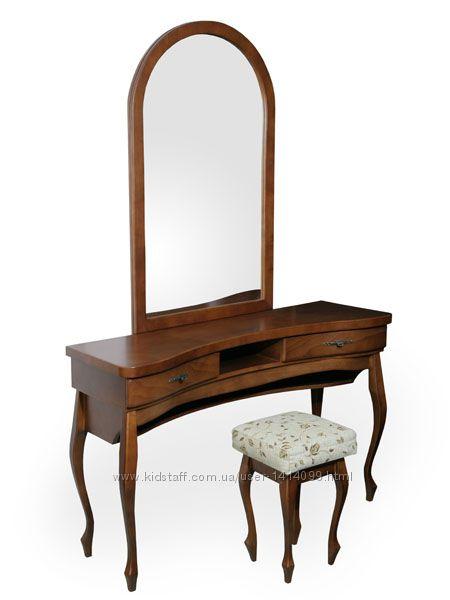 Трельяж из дерева с зеркалом в спальню