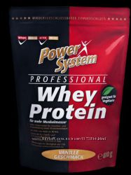 Качественный Протеин Power System Professional WHEY PROTEIN Супер цена