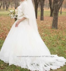 Свадебное платье цвета айвори подарок