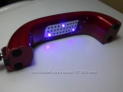 Led-лампа для полимиризации гель-лака 9в