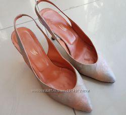 кожаные босоножки италия на узкую ногу