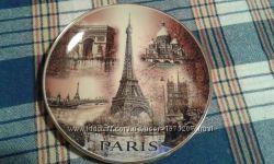 Тарілка керамічна Париж