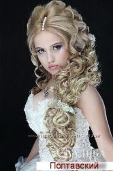 Свадебные прически, плетение, визаж Харьков